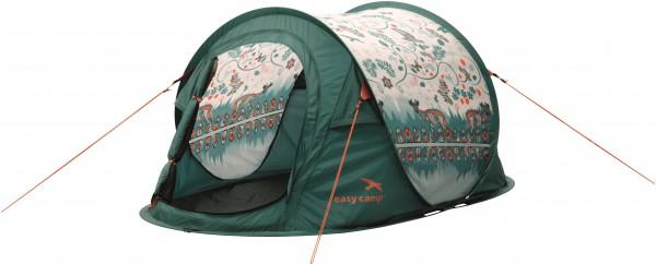 EASY CAMP Daysnug 2 Pop-Up-Zelt - Grün - für 2 Personen