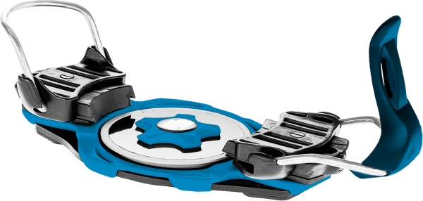 F2 Race Titanium - blue - Raceboard - Bindung - Plattenbindung