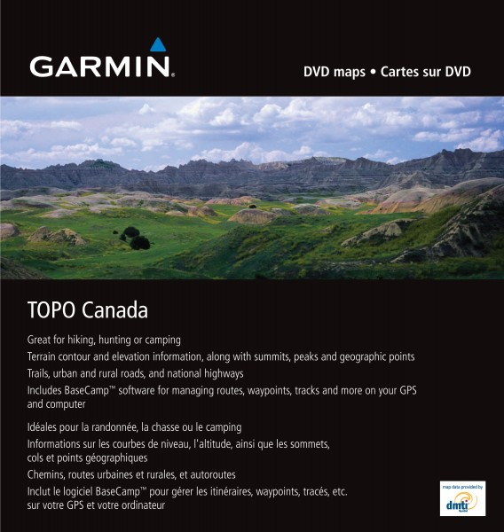 GARMIN Topo Kanada - microSD/SD - Karte