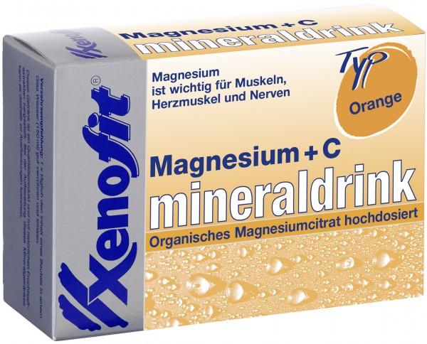 XENOFIT Magnesium Vitamin C Mineraldrink - Btl. 20X4 g
