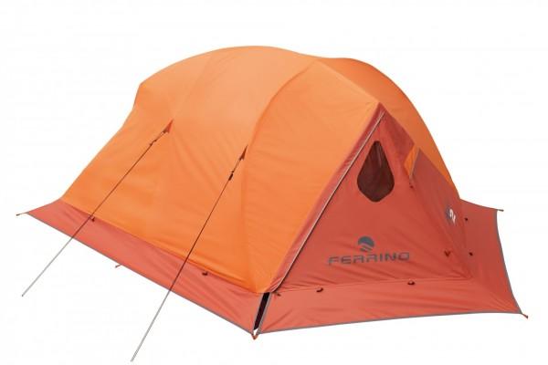 FERRINO Manaslu 2 Vier-Saison-Zelt - Orange - für 2 Personen