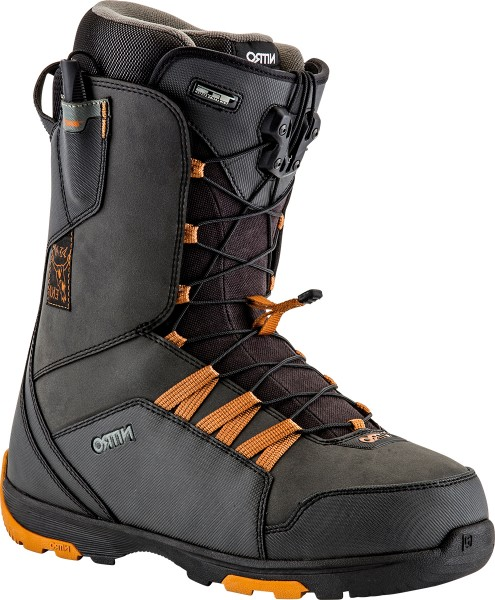 Nitro Thunder TLS Black/Gold Jon Kooley - Snowboardschuhe