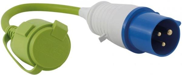 OUTWELL CEE-Stecker- Schutzk. Schuko- Kupplung Adapter