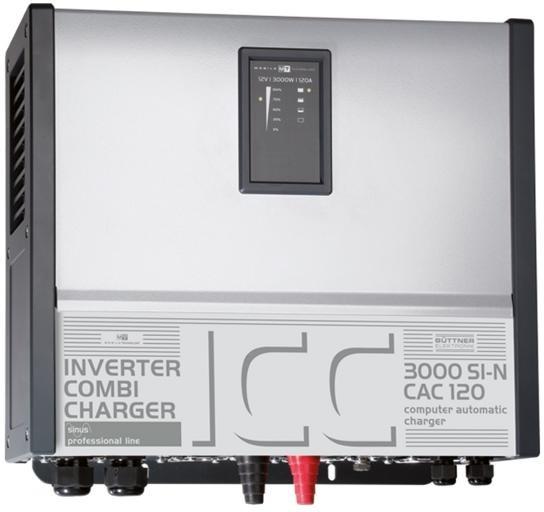 BÜTTNER ELEKTRONIK ICC-Wechselrichter/Lade-Kombination 3000 SI-N