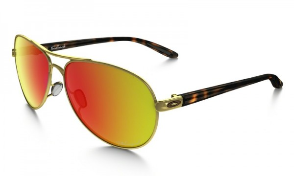 Oakley Feedback™ Polarized Polished Gold/Ruby Iridium Polarized