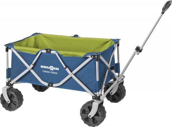 BRUNNER Bollerwagen- Faltbarer Handwagen Cargo Cross- grün/blau