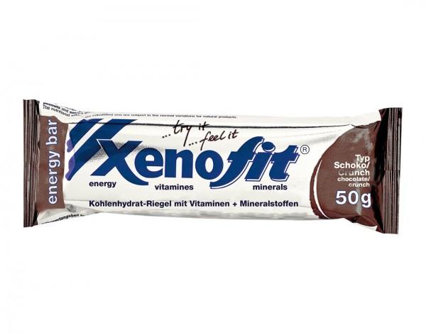 XENOFIT Energy Bar Riegel - Schoko Cruch - 50g