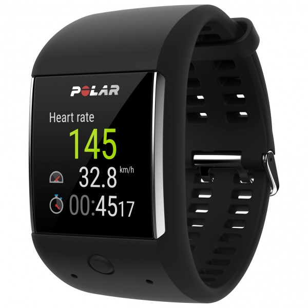 POLAR M600 Black - Smartwatch - Multifunktionsuhr