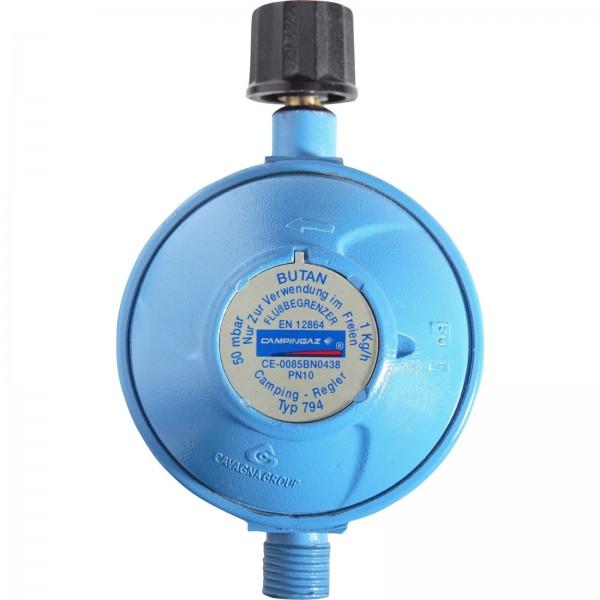CAMPINGAZ Gasdruck-Regler 50mbar 1,0kg/h- Druckminderer