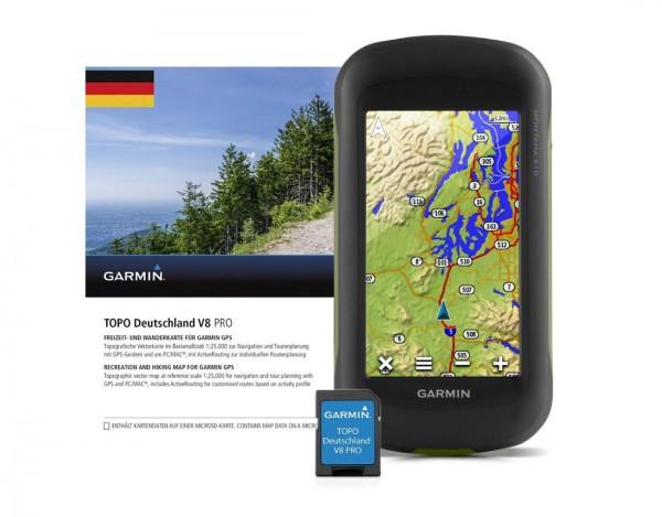 GARMIN Montana 610 + TOPO Deutschland V8 PRO - Outdoor - Navi
