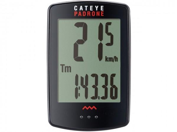 CATEYE CC-PA100W Padrone Fahrradcomputer schwarz