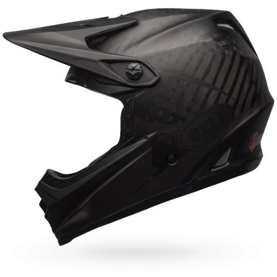 BELL FULL-9 Downhill-Helm matt schwarz - Größe XXL