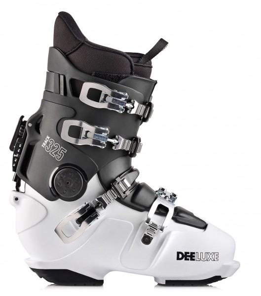 DEELUXE TRACK 325 T - Thermo - Black/White - Hardboots
