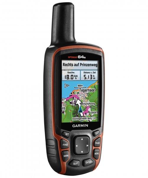 Garmin GPSMap 64s mit Bluetooth und Live Tracking Worldwide GPS