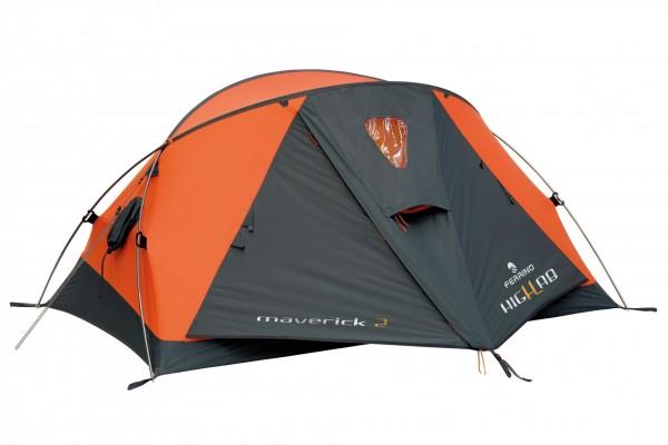 FERRINO Maverick Trekkingzelt - Orange-Grey - für 2 Personen
