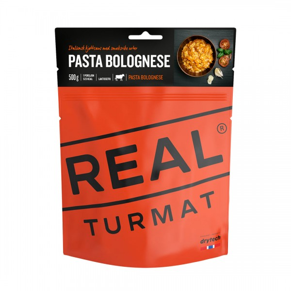 REAL TURMAT Pasta Bolognese - Expeditionsnahrung