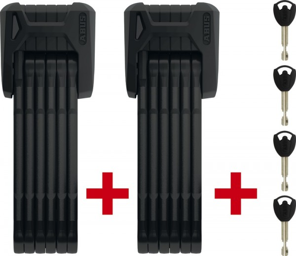 ABUS Bordo Granit Plus™ 6500/85 Faltschloss TwinSet SH