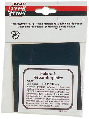 TIP TOP Reparaturplatte 10x10cm