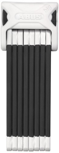 ABUS - Bordo Big 6000 - 5,0mm - weiss - Faltbügelschoss