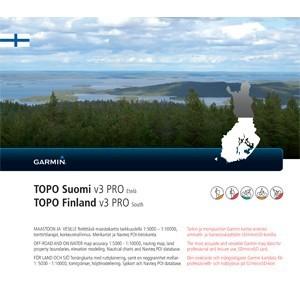 Garmin Topo Finnland V3 PRO Süd (microSD/SD) - Karte