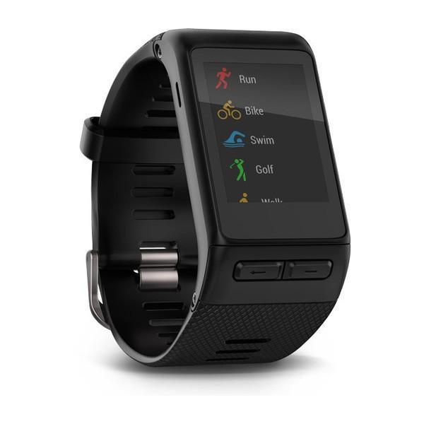 GARMIN vívoactive HR - Schwarz - intelligente Uhr - Regular