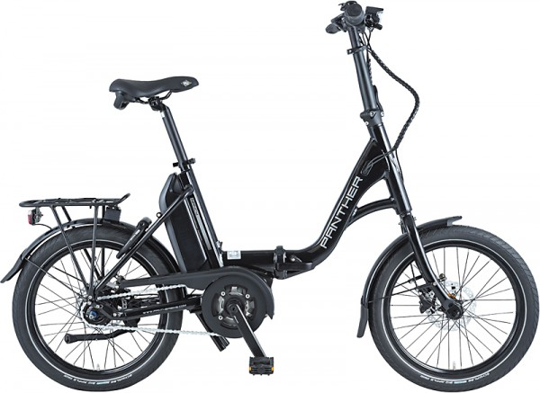 PANTHER Nancy E-Bike Faltrad 8-GANG - schwarz matt