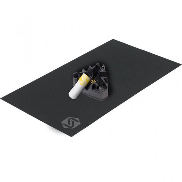 SARIS Trainingsmatte- 91x165cm + Climbing Riser Block + Handtuch