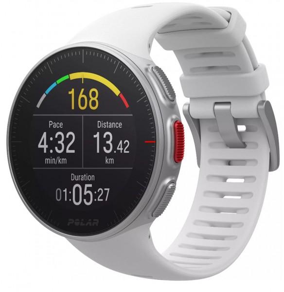 POLAR Vantage V - HR - Weiss- GPS - Multisport - Uhr- Laufen/Schwimmen