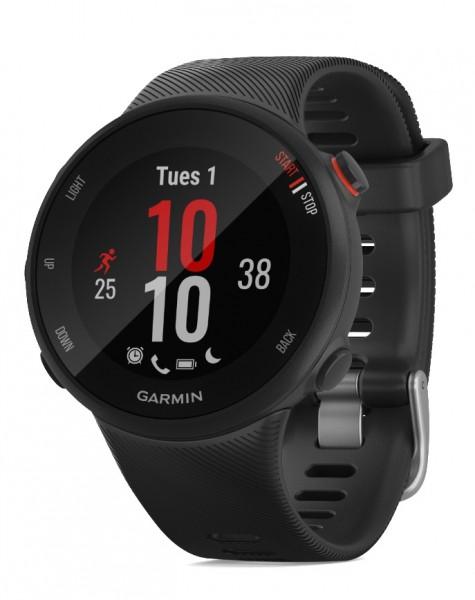 GARMIN Forerunner 45S Schwarz GPS Lauf- Training Smartwatch
